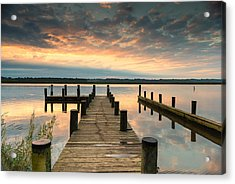 Acrylic Print featuring the photograph Peaceful Patuxent by Cindy Lark Hartman