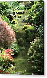 Peaceful River Acrylic Print by Carrie Warlaumont