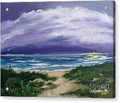 Peaceful Sunrise Acrylic Print by J Linder