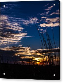 Peaceful Sunset Acrylic Print