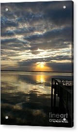 Peaceful Sunset Acrylic Print by Tannis  Baldwin