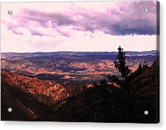 Acrylic Print featuring the photograph Peaceful Valley by Matt Harang