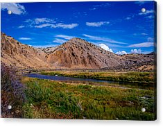 Peaceful Valley Acrylic Print
