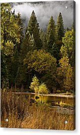 Peaceful Yosemite C6j8124 Acrylic Print