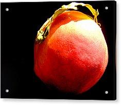Peach Mohawk Acrylic Print by Susan Duda