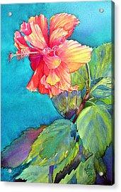 Peach Paradise Acrylic Print