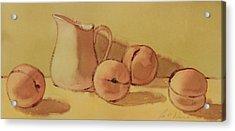 Peaches And Cream Acrylic Print