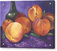 Peaches And Wine Acrylic Print