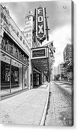 Peachtree Street And The Fox Theatre - Atlanta Acrylic Print
