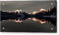 Peaks Acrylic Print