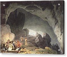 Peaks Hole, Derbyshire Acrylic Print