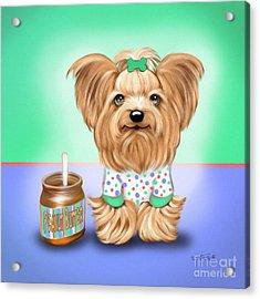 Peanut Butter Lover Acrylic Print by Catia Cho