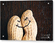 Peanuts In Love Acrylic Print by Sharon Dominick