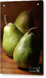 Pear Delight Acrylic Print by Joy Watson
