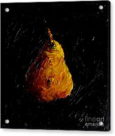Pear Acrylic Print by Fred Wilson