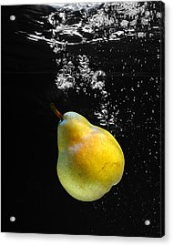 Acrylic Print featuring the photograph Pear by Krasimir Tolev