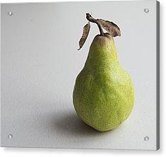 Acrylic Print featuring the photograph Pear Still Life Protrait by Jocelyn Friis