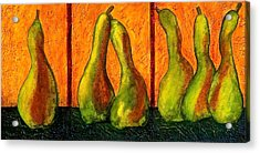 Pear Whimsy Acrylic Print