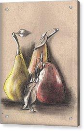 Pear2 Acrylic Print