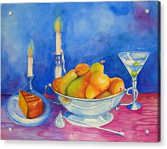 Pearis By Candlelight  Acrylic Print