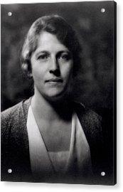 Pearl Buck 1892-1973 Acrylic Print
