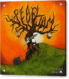 Pearl Jam Tree Acrylic Print