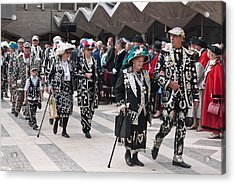 Pearly Kings And Queens Parade. Acrylic Print