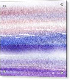 Pearly Sky Abstract I Acrylic Print by Irina Sztukowski