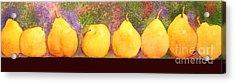 Pears Acrylic Print by Gwen Nichols