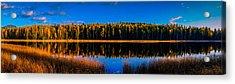 Acrylic Print featuring the photograph Peavine Pond Panorama by Rob Tullis