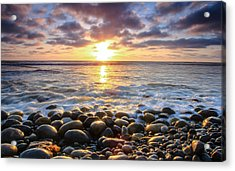 Pebble Beach Acrylic Print