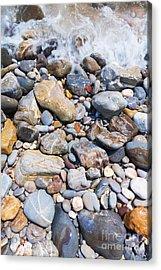 Pebble Stones Acrylic Print