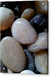 Pebbles Acrylic Print by Jaime Neo
