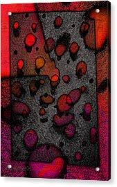 Pebbles On An Alien Beach Acrylic Print