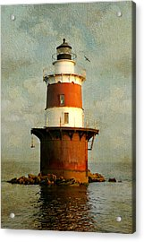 Peck's Ledge  Acrylic Print by Diana Angstadt