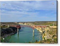Pecos River High Bridge Acrylic Print