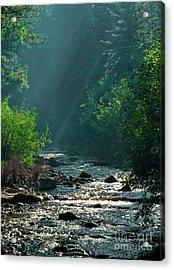Pecos River Spring Acrylic Print