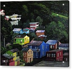 Pedazito De Yauco Cerro Acrylic Print