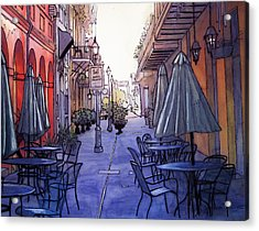 Pedestrian Mall  212 Acrylic Print by John Boles