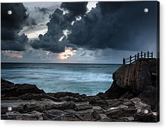 Acrylic Print featuring the photograph Pedra Que Bole by Edgar Laureano