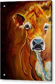 Peek Cow Acrylic Print
