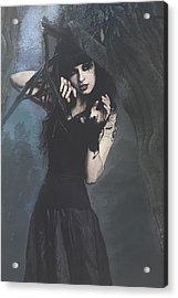 Peek Gothic Scene Acrylic Print