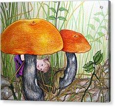 Peekaboo Acrylic Print