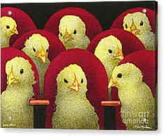 Peep Show... Acrylic Print by Will Bullas