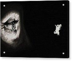 Peeping Tom - Psycho Acrylic Print