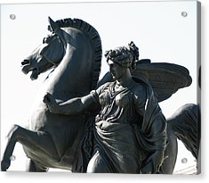 Pegasus Acrylic Print by Christopher Woods
