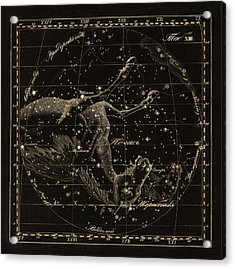 Pegasus Constellations, 1829 Acrylic Print by Science Photo Library