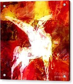 Pegasus Glow Acrylic Print by Lutz Baar