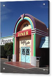 Peggy Sue's 50's Diner Acrylic Print by Denise Beaupre