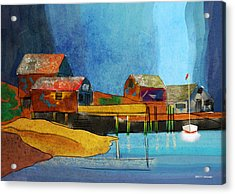 Peggys Cove Acrylic Print
